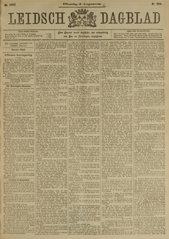 Leidsch Dagblad 1904-08-02