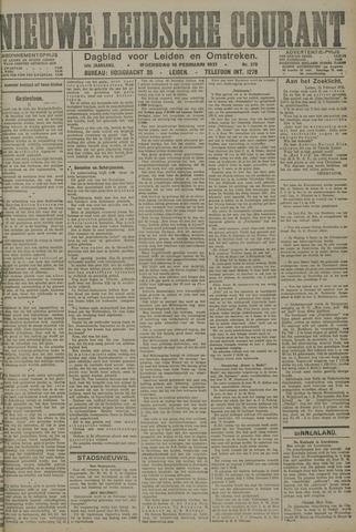 Nieuwe Leidsche Courant 1921-02-16