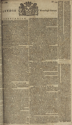 Leydse Courant 1760-11-26