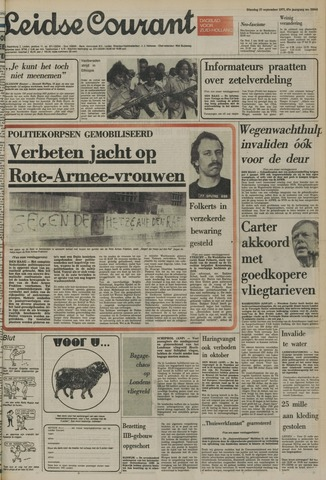 Leidse Courant 1977-09-27