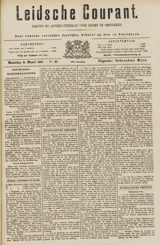Leydse Courant 1887-03-21