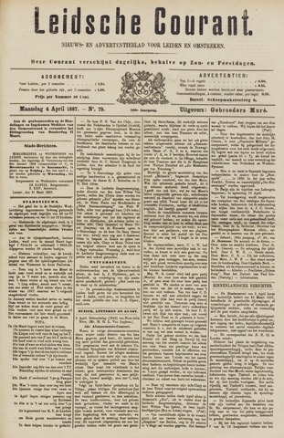 Leydse Courant 1887-04-04