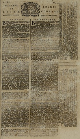 Leydse Courant 1811-04-10