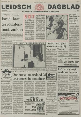 Leidsch Dagblad 1985-04-22