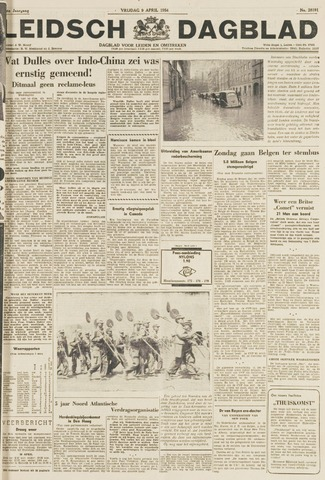 Leidsch Dagblad 1954-04-09
