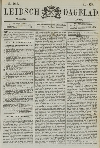Leidsch Dagblad 1875-05-26