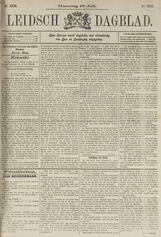 Leidsch Dagblad 1892-07-18