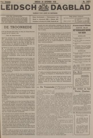 Leidsch Dagblad 1938-09-20
