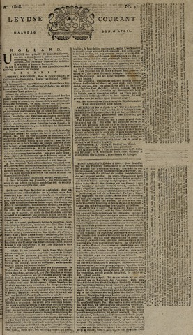 Leydse Courant 1808-04-18