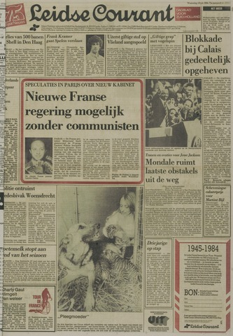Leidse Courant 1984-07-18