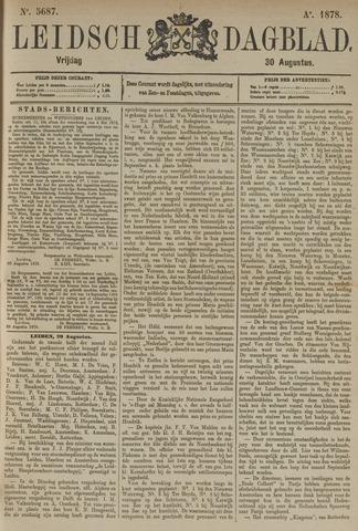 Leidsch Dagblad 1878-08-30