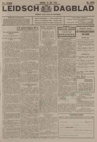 Leidsch Dagblad 1938-07-15