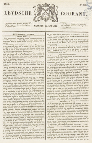 Leydse Courant 1853-01-24