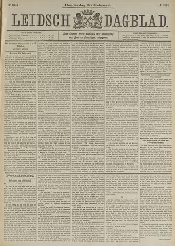Leidsch Dagblad 1896-02-20
