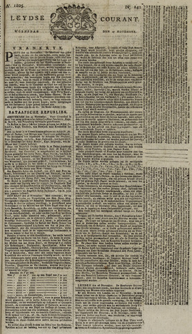 Leydse Courant 1805-11-27