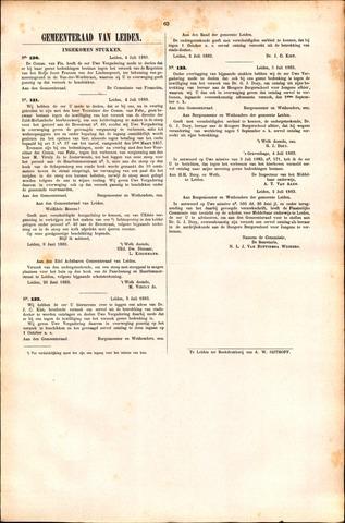 Handelingen van de Raad 1883-07-04