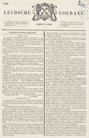 Leydse Courant 1850-05-24