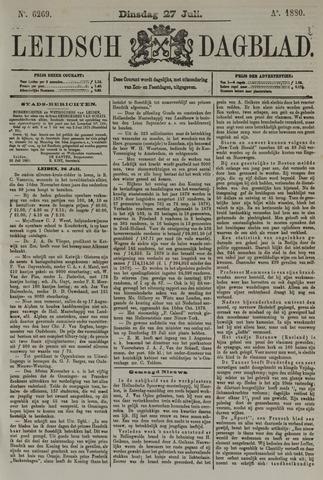 Leidsch Dagblad 1880-07-27