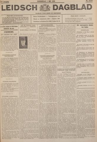Leidsch Dagblad 1930-05-01