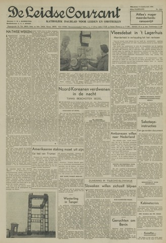 Leidse Courant 1951-02-09