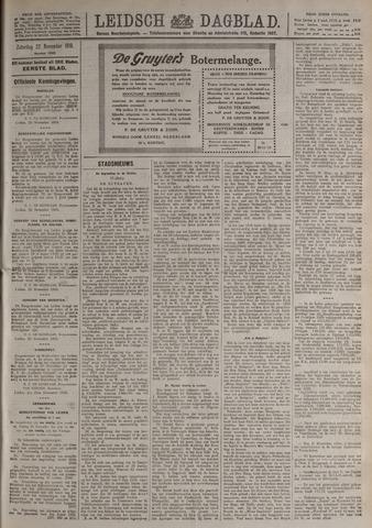 Leidsch Dagblad 1919-11-22
