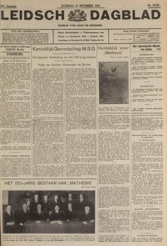 Leidsch Dagblad 1935-09-21