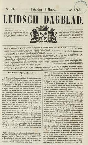 Leidsch Dagblad 1863-03-14