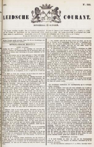 Leydse Courant 1877-10-25