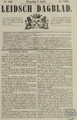 Leidsch Dagblad 1861-04-09