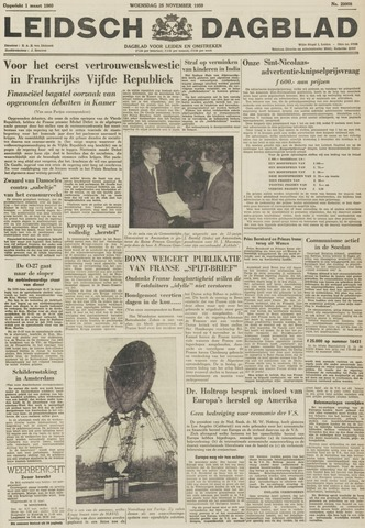 Leidsch Dagblad 1959-11-25