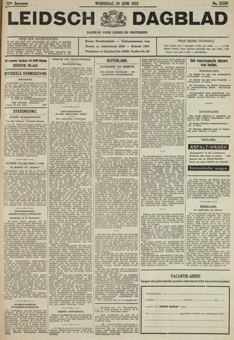 Leidsch Dagblad 1932-06-29