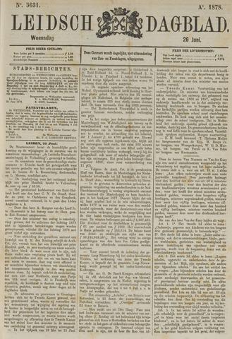 Leidsch Dagblad 1878-06-26