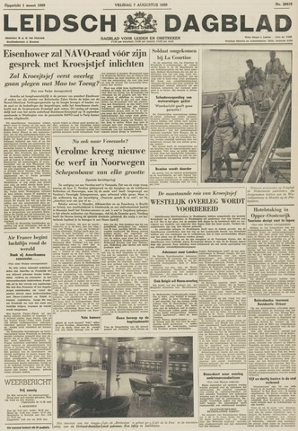 Leidsch Dagblad 1959-08-07
