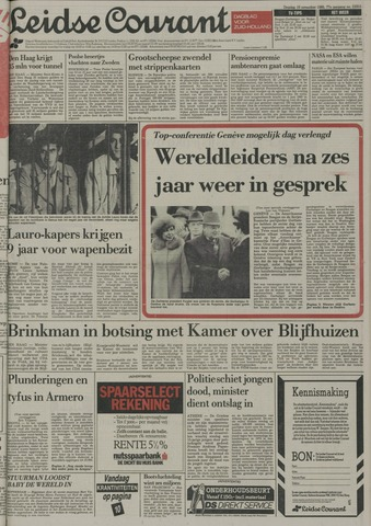 Leidse Courant 1985-11-19