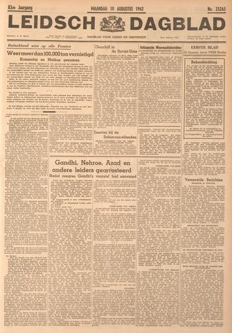 Leidsch Dagblad 1942-08-10