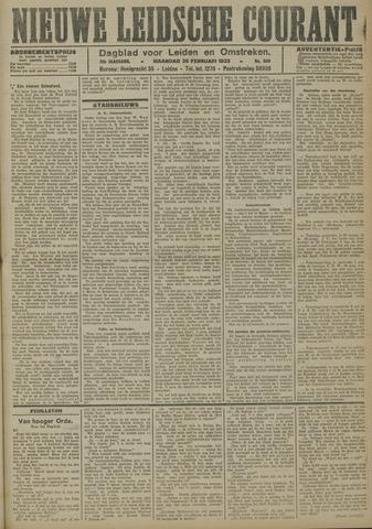 Nieuwe Leidsche Courant 1923-02-26