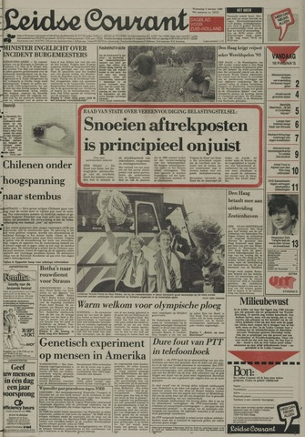 Leidse Courant 1988-10-05