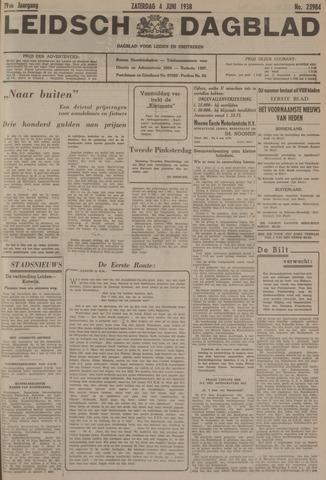 Leidsch Dagblad 1938-06-04