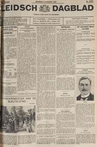 Leidsch Dagblad 1932-08-08