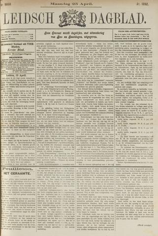 Leidsch Dagblad 1892-04-25
