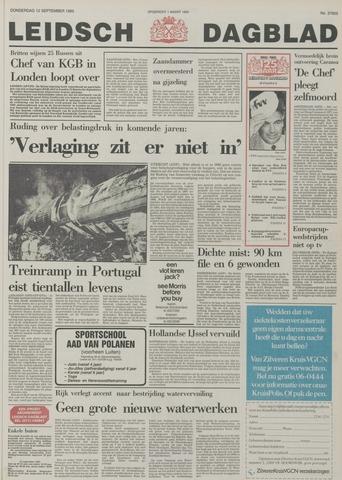 Leidsch Dagblad 1985-09-12