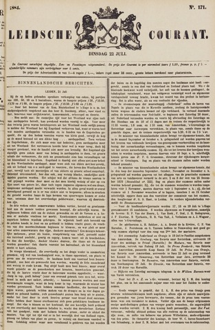 Leydse Courant 1884-07-22