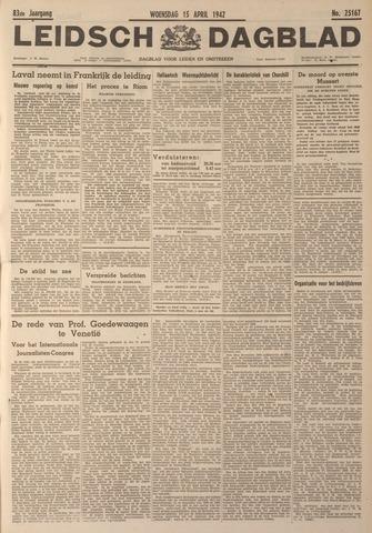 Leidsch Dagblad 1942-04-15