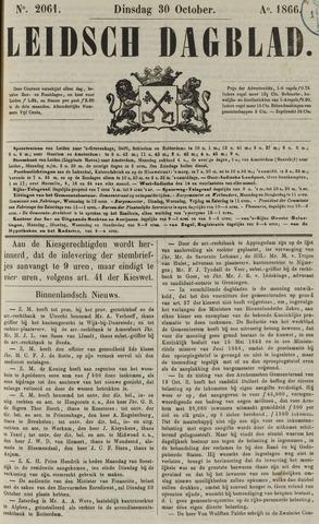 Leidsch Dagblad 1866-10-30