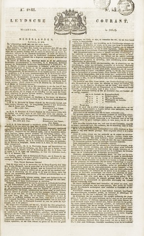 Leydse Courant 1841-07-12
