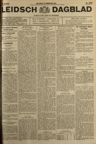 Leidsch Dagblad 1932-02-22