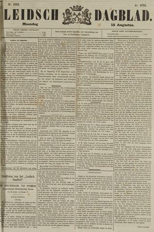 Leidsch Dagblad 1870-08-15