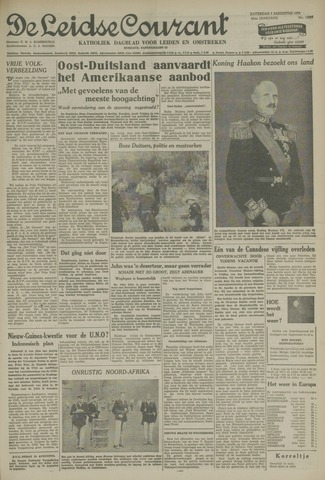 Leidse Courant 1954-08-07