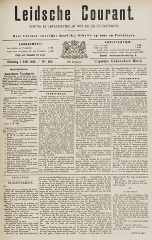 Leydse Courant 1885-07-07