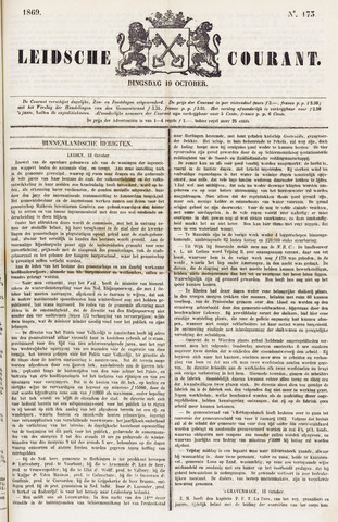 Leydse Courant 1869-10-19